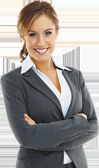Female leasing agent